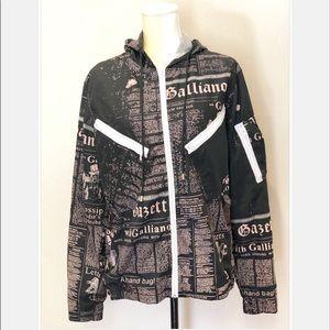 JOHN GALLIANO Gazette Wind Jacket Size XL